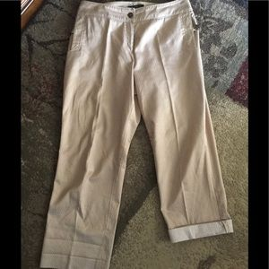 Fabulously Golden Cropped Pants 10P